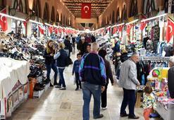 Komşu ülkelerden Edirneye alışveriş turu