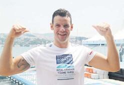 'Okyanusların Şampiyonu' Boğaz'da kulaç attı