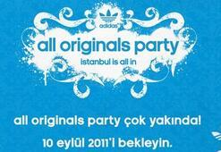 all Originals Party buluşması