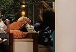 Suzan Avcının zor anları Otelin lobisinde fenalaştı...