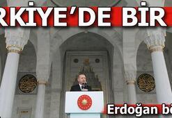 Erdoğan Ankarada cami açılışında konuştu