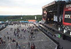 Almanyada terör Rock Festivali alanı boşaltıldı