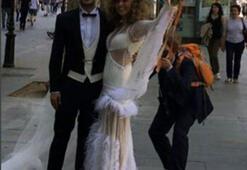 Gelinlik düğünün önüne geçti