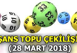 Şans topu çekilişi sonuçları açıklandı - 28 Mart 2018