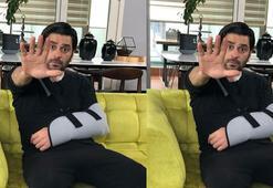 EDHOnun İlyası Ozan Akbabanın köprücük kemiği kırıldı