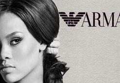 Rihannadan Armani Koleksiyonu