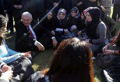 Başbakan Yıldırım, gözyaşlarını tutamadı