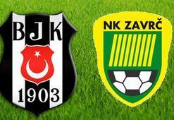 Beşiktaş Zavrc maçı saat kaçta hangi kanalda
