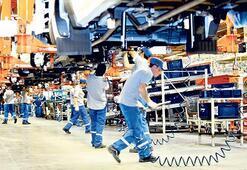 Otomotiv üretimde iyi yolda