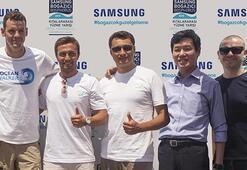 Samsung Mavi Kulaçlar Yüzme Takımı