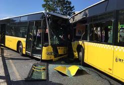 İstanbulda metrobüs kazası: Üçü ağır çok sayıda yaralı