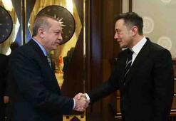 Cumhurbaşkanı Erdoğan, Elon Musku kabul etti