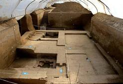 İki bin yıllık banyo bulundu