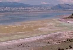 Burdur Gölünde alg patlaması