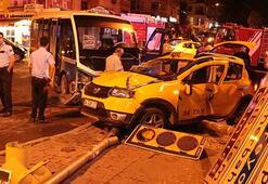 İstanbul ve Sivasta meydana gelen iki ayrı kazada ölü ve yaralılar var