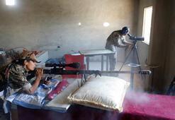 Son dakika... Kadın teröristleri uluslararası ajans fotoğrafladı O silahlar...