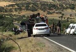 Diyarbakır ve Şanlıurfadan kaza haberleri peş peşe geldi Ölü ve yaralılar var