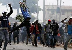 Kenya'da kanlı gösteri