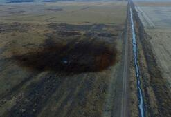 ABDde dev sızıntı havadan göründü Şok fotoğraflar...