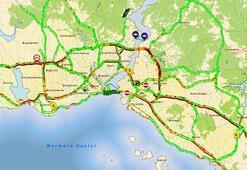 Son dakika: İstanbulda trafik durma noktasına geldi