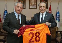 Galatasaraydan Eyüpsultan Belediyesine ziyaret