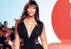 Moda ikonu ödülü Naomi'ye