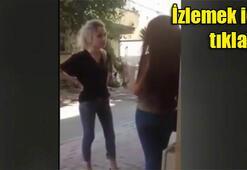 Bağcılarda kız kavgası kamerada
