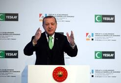 Cumhurbaşkanı Erdoğan: Tehlike dağdan kopan çığ gibi büyüyor