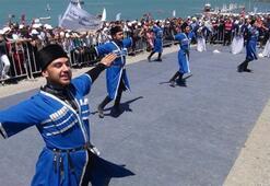 Çıldır Gölünde il kez yelken yarışları yapıldı