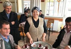 Bu köyde kahveleri kadınlar işletiyor