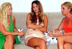 Bodrumda üç ünlü kadına hırsız şoku