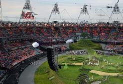 2012 Londra Olimpiyatlarına muhteşem açılış