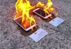 Günün Sorusu: iPhone 6 Mı Galaxy S5 Mi Yangından Sağ Çıkar