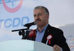 Ankara-Sivas YHT Hattı İlk Ray Serim Töreni yapıldı