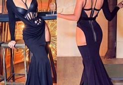 Jelena Karleusanın ödül kıyafeti