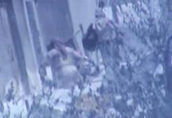 Son dakika: Musulda sıkışıp kalan teröristler görüntülendi