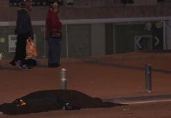 Son dakika: Bağdat Caddesinde feci kaza Kimse bakamadı...