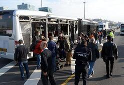 Son dakika... İstanbulda iki metrobüs çarpıştı: Yaralılar var