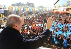 Cumhurbaşkanı Erdoğan Ağrıda müjdeyi verdi