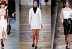 2012 Sonbahar-Kış Sezonu Beyaz Elbiseler