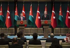 Son dakika: Erdoğan ve Kral Abdullahtan flaş Kudüs çağrısı