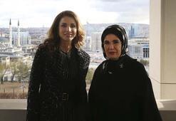 Emine Erdoğan, Ürdün Kraliçesi Raniayı Külliyede kabul etti