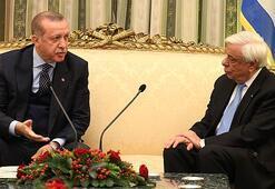 Son dakika:Tarihi ziyarette Cumhurbaşkanı Erdoğandan Lozan resti