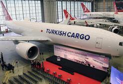 THYnin Boeing 777 kargo uçağının teslim töreni