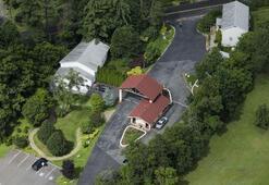 FETÖnün malikanesinin son görüntüleri Görüntüler helikopterle çekildi
