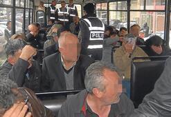 22 saat yargılamada 26 çeteci tutuklandı