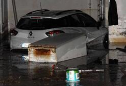 Son dakika: Çanakkalede sel felaketi En çok orayı vurdu...