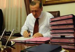 Erdoğanın masasındaki sürpriz isimler