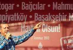 Erdoğan, Başakşehir Metro açılışında