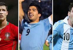 Avrupada Yılın Futbolcusu Adayları: Messi, Ronaldo, Suarez